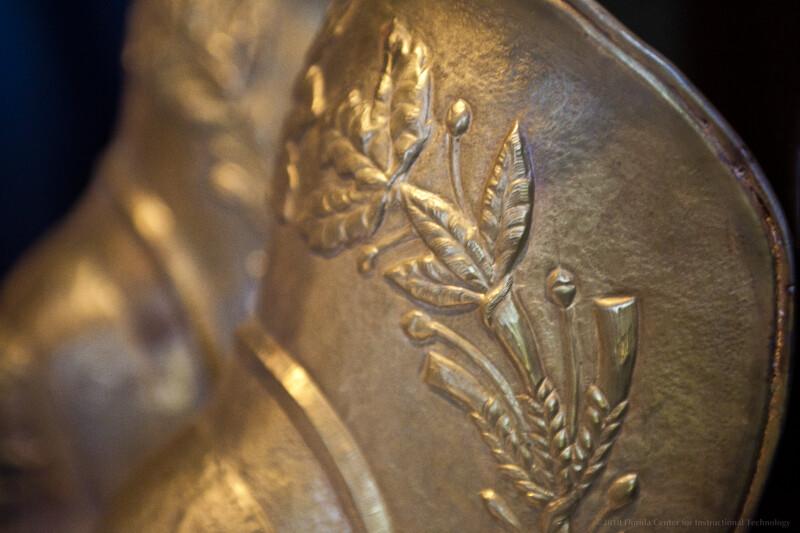 Thracian Shin Guard Close-Up