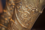 Thracian Shin Guard Detail