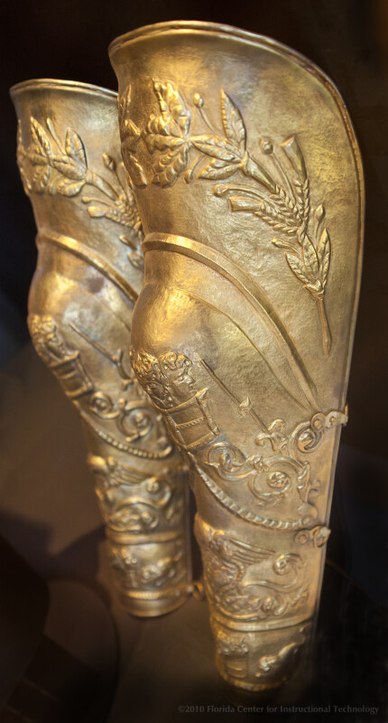 Thracian Shin Guards