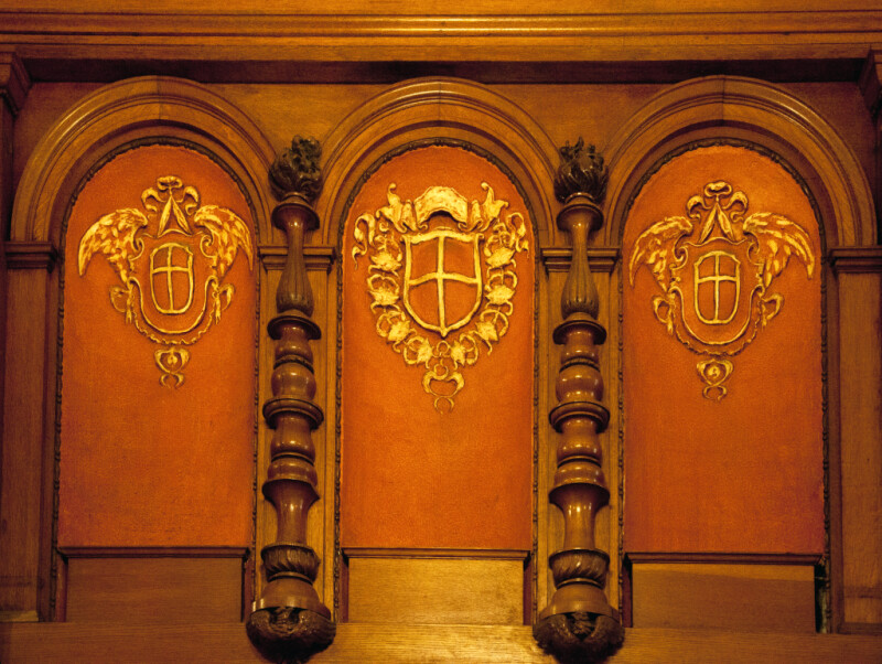 Three Arches and Three Escutcheons