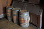 Three Casks and a Storage Bin