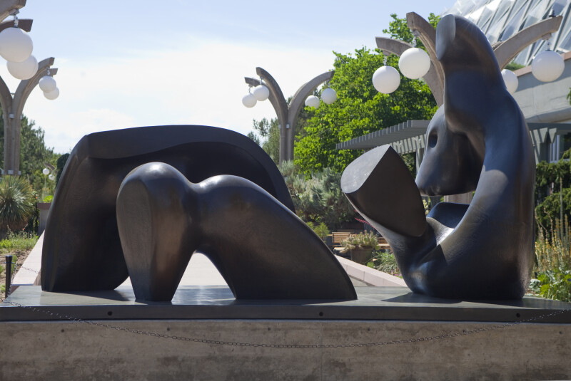 """Three Piece Reclining Figure: Draped"""
