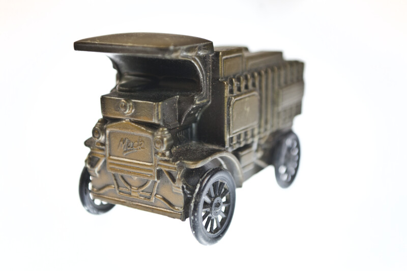 Three-quarter View of Truck Bank