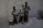 Three Sailors on Dock