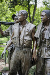 Three Soldiers Statue Side