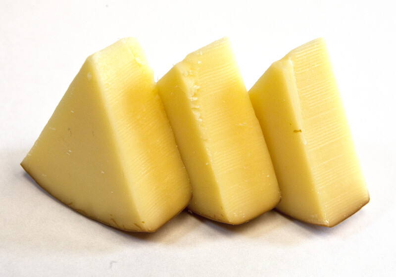 Three Wedges of Cheese