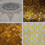 Tile photographs