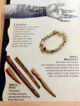 Timucuan Cultural Display - Tattooing, Shell Bracelets, and Shell Pins