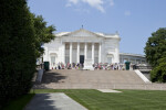 Tomb of the Unknowns, Memorial Amphitheater, and Lawn