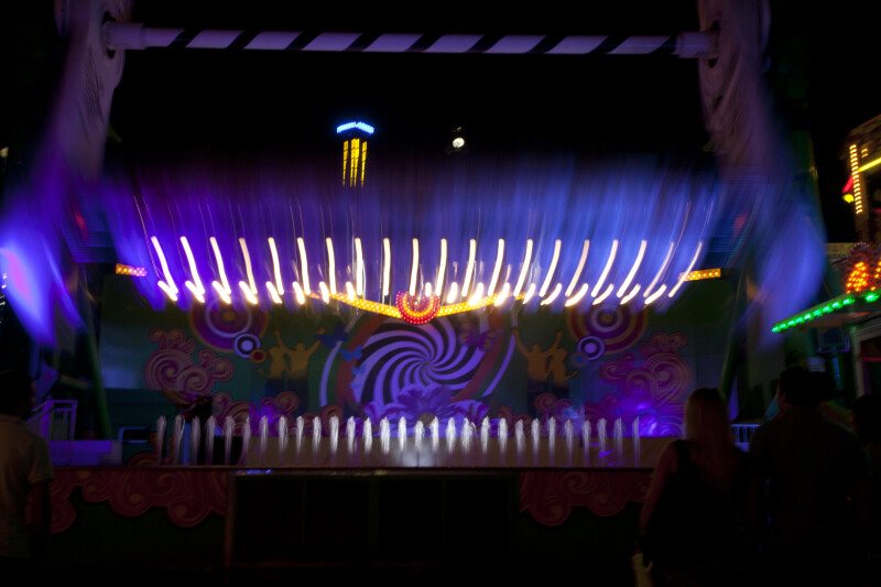 Top Spin Ride at the Prater