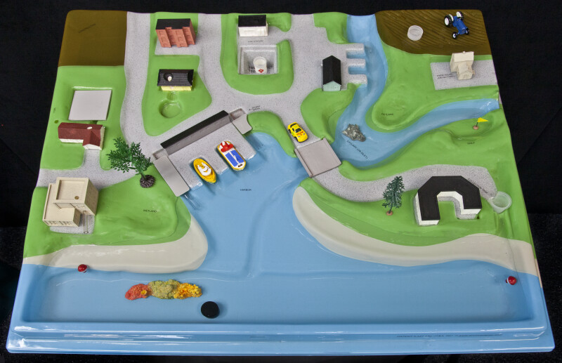 Top View of Watershed Model