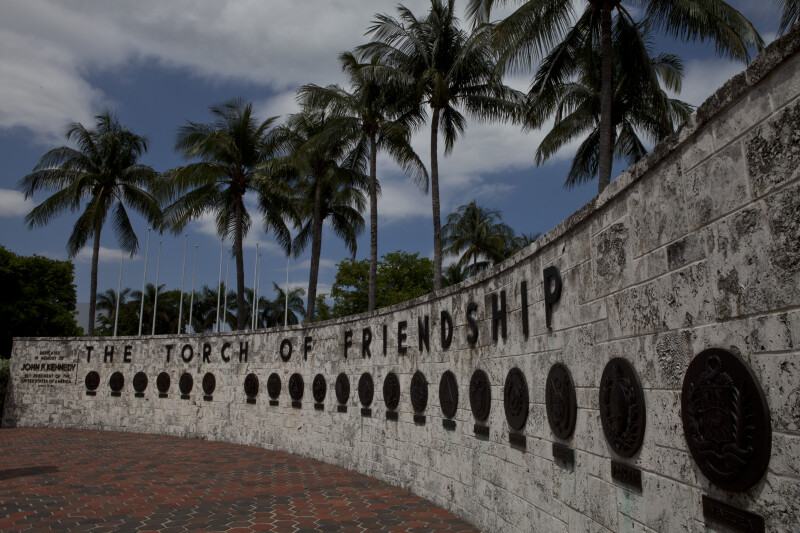 Torch of Friendship Memorial Wall