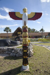 Totem at the Big Cypress National Preserve