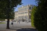 Tourists at Schönbrunn