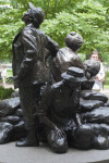 Tourists at Vietnam Women's Memorial