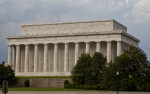 Tourists by Lincoln Memorial