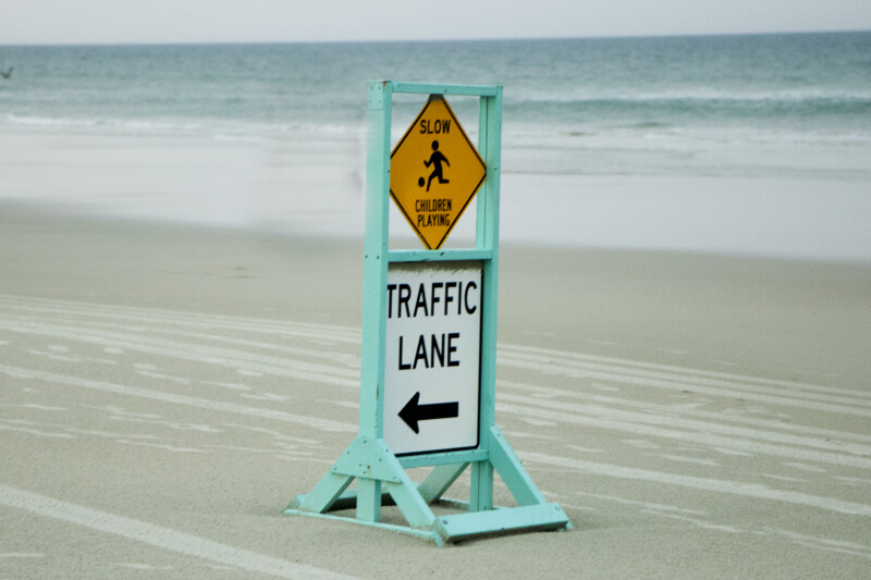 Traffic Lane Sign #2