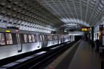 Train at Metro Station