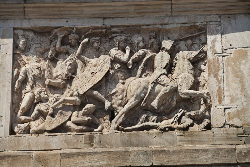 Trajan and the Conquest of the Dacia Region