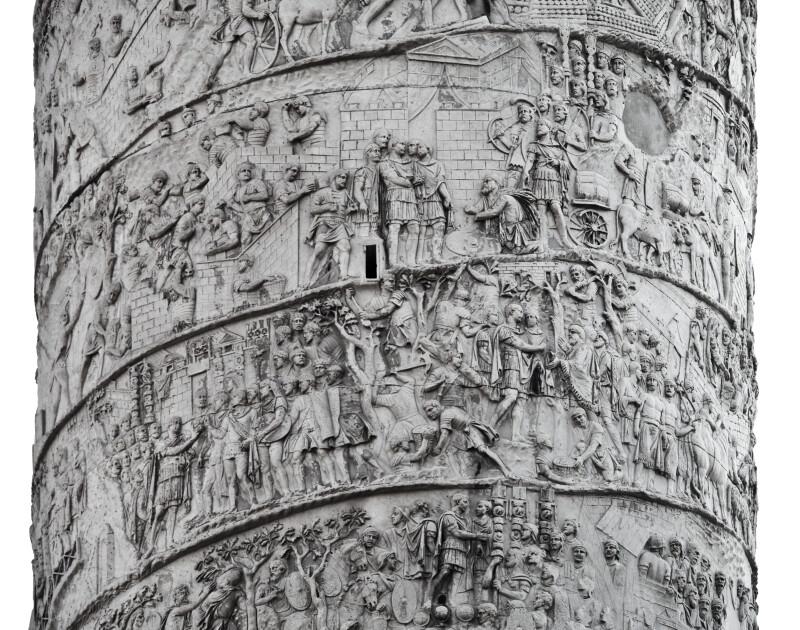 Trajan Gives Audience to the Local Dacian Representatives