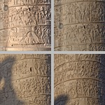 Trajan's Column photographs