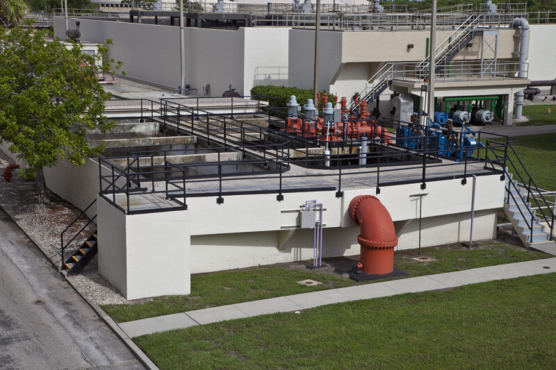 Transfer Pump Station and Aeration Basin