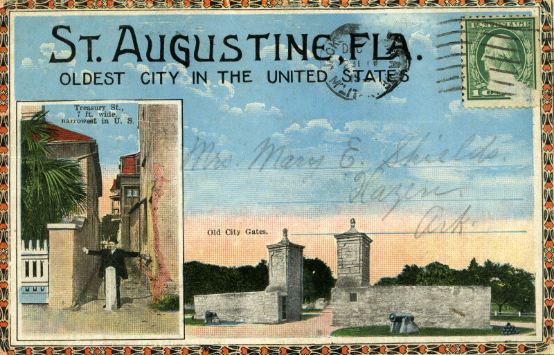 Treasury Street and Old City Gates (cover)