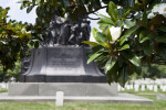 Tree Branches and Confederate Memorial