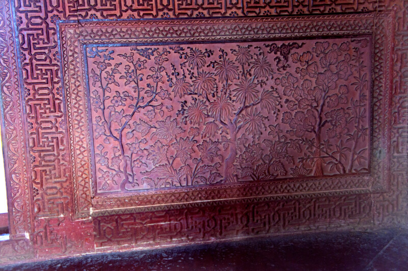 Tree Pattern Carvings