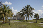 Trees and a Building at Biscayne National Park
