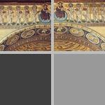 Triumphal arch mosaics photographs