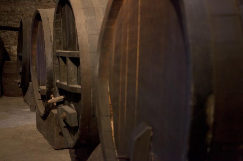 Tuns in a Cellar