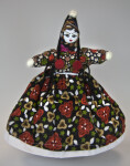 Turkey Handcrafted Female Doll with Cloth Body and W