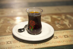 Turkish Tea in a Small Glass