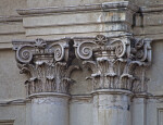 Tuscan Order Columns on the Exterior of a Building