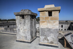 Two Chimneys on the Castillo de San Marcos