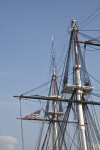 Two Masts on the USS Constitution