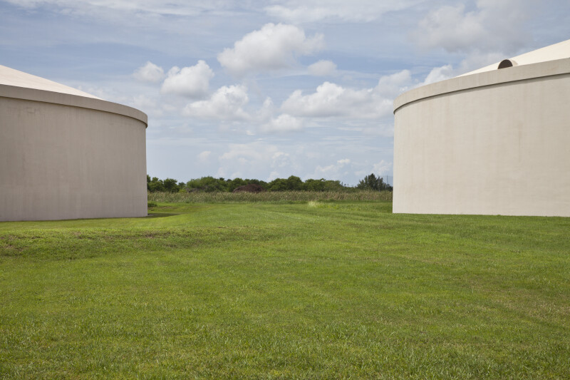 Two Water Storage Tanks