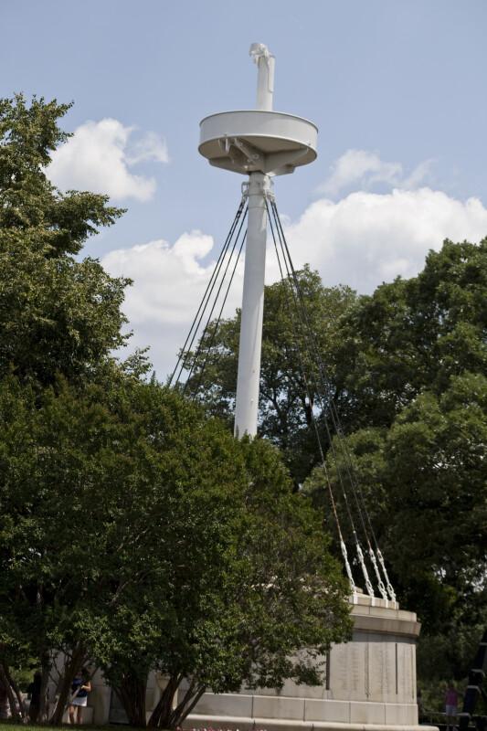 U.S.S. Maine Mast