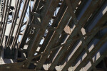 Underside of the Pennsylvania Railroad Bridge