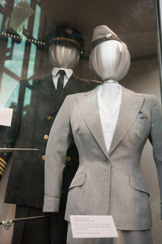 United Airlines Flight Attendant Uniform