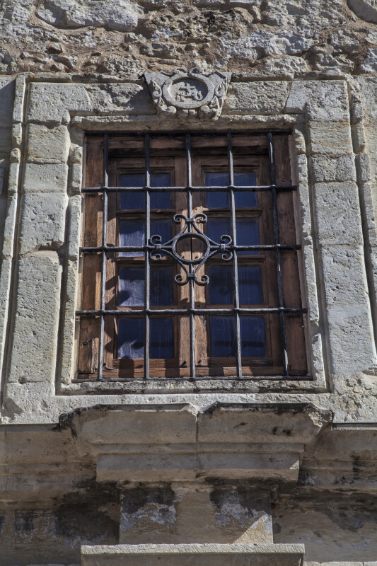 Upper Barred Window at the Alamo