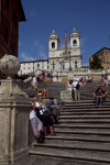 Upward View of the Spanish Steps
