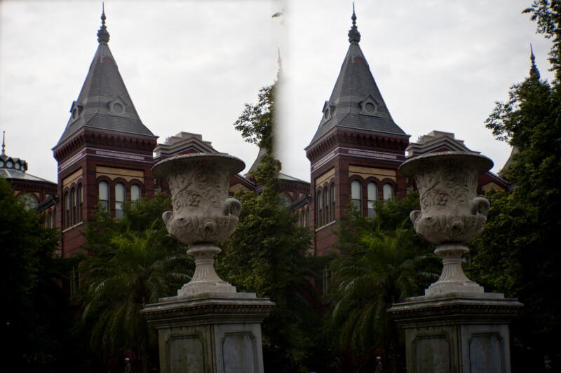 Urn at Smithsonian Information Center