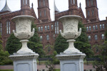 Urn Outside of Smithsonian Information Center