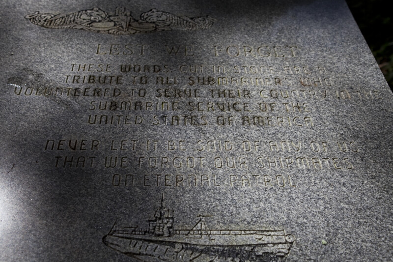 US Submarine Veteran's Memorial