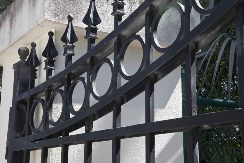 USF Botanical Gardens Iron Gate