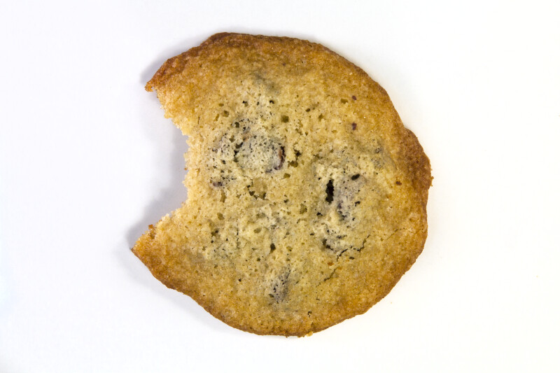 Vanishing Cookie with 1 Bite