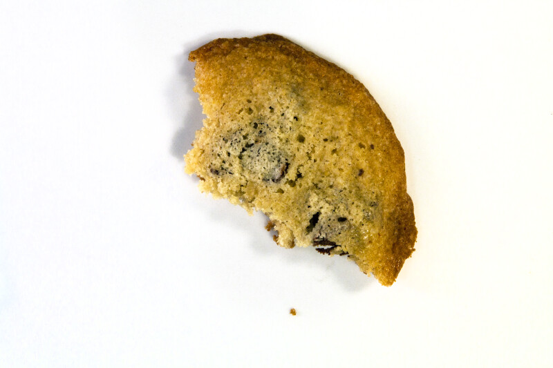 Vanishing Cookie with 3 Bites