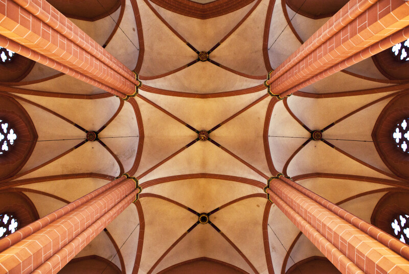 Vaulted Ceiling at Frankfurt Dom